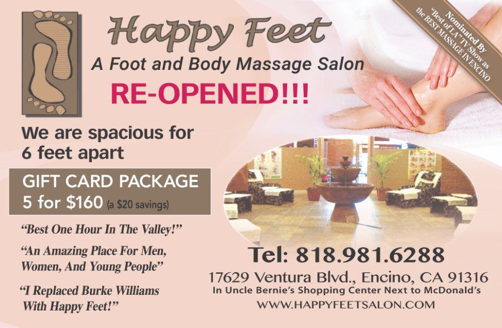 Happy Feet Ad